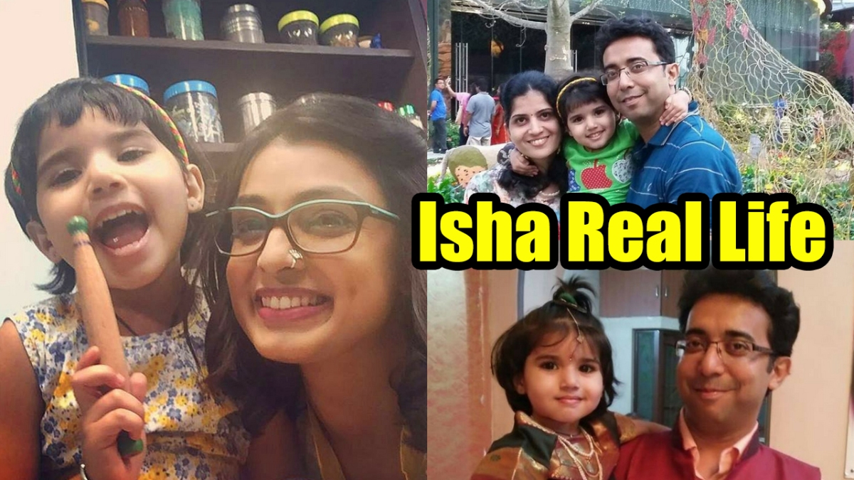 Isha with Real Parents | Isha Khulta kali Khulena
