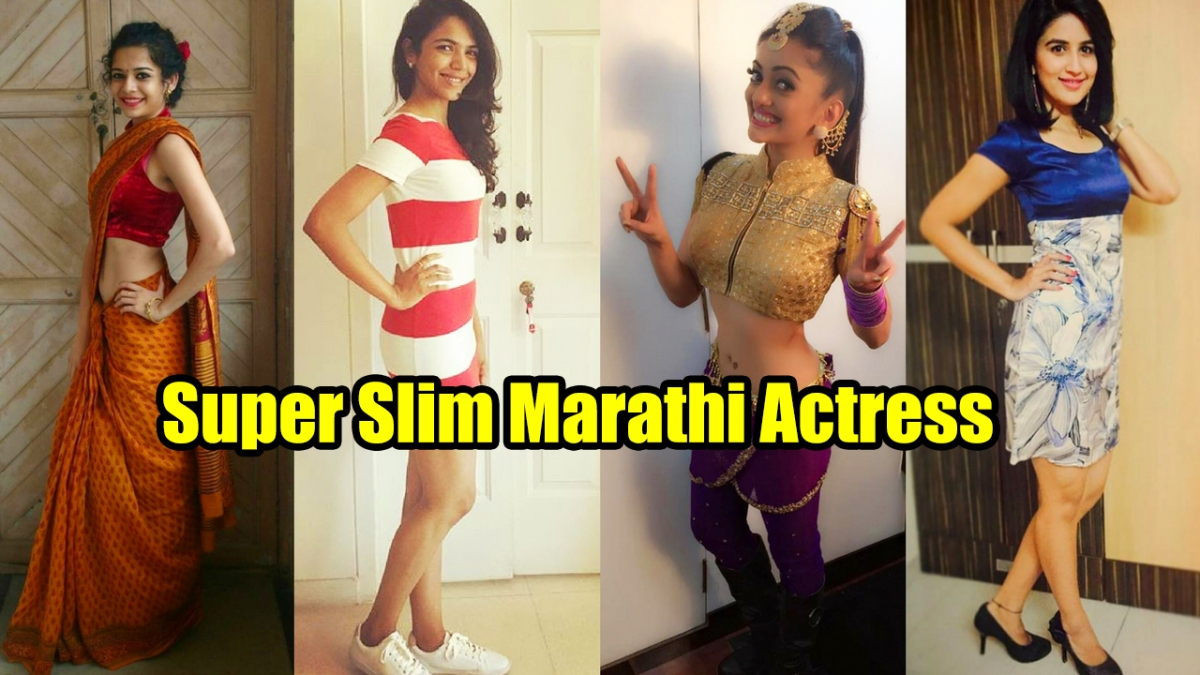 Super Slim Marathi Actress